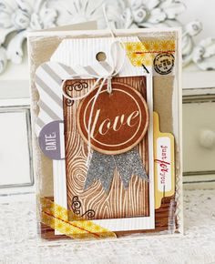 Curtsey Boutique Wood Grain Tags via the Freckled Fawn