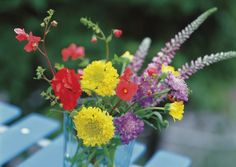It is easy for fresh-cut flowers to die more quickly when you do not have the packet of plant food that comes with them. This is because tap water is not acidic enough by itself...
