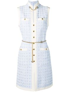 Check out Gucci with over 1 items in stock. Shop Gucci Short tweed dress with chain belt today with fast Australia delivery and free returns. Fashion Brands, Luxury Fashion, Gucci Dress, Older Women Fashion, Tweed Dress, Tweed Outfit, Everyday Dresses, Everyday Outfits, Ootd