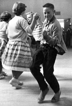 High School Dance, 1950