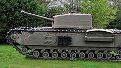 Churchill Mk VII flamethrower tank Military Equipment, Armored Vehicles, Churchill, Crocodile, Military Vehicles, World War, Wwii, Tanks, Armour
