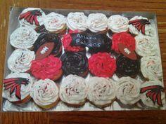 Atlanta Falcons Cupcakes