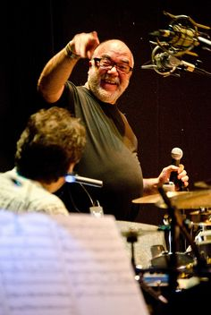 SNJO + Peter Erskine (rehearsal) - Fri 24 February 2012 -0089 by The Queen's Hall, via Flickr