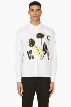 MARNI White Katja Schwalenberg Edition Shirt