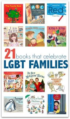 Children's Books That Celebrate LGBT Families Books about families with same sex parents. Great list of LGBT books for kids.Books about families with same sex parents. Great list of LGBT books for kids. Lgbt, Alphabet Book, Parenting Books, Children's Literature, Child Love, Library Books, Library Ideas, Biographies, Book Lists