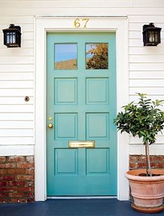 Your front door is one of the most important parts to pay attention to. It can make or break your curb appeal. Check out the best and most popular front door colors so you can make your front door pop!