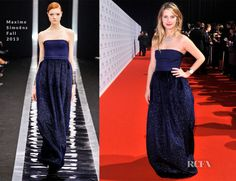 Melanie Laurent In Maxime Simoëns – IWC 'Inside The Wave' Gala Event