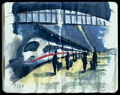 Railstation Paris