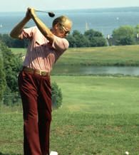 Gerald R. Ford Playing Golf