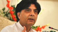 Clear system needed for inclusion of names on ECL: Nisar - Pakistan Reports