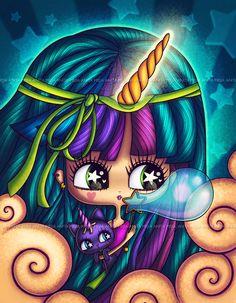 Unicornio by Chocolatita.deviantart.com on @deviantART