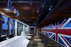 Das gemütliche Google-Büro in London
