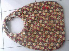 Sonho de Craft Mochila com tecido floral.