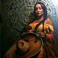 Azteca .. chicana pride