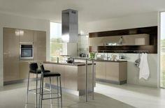 Black Walnut Gloss Kitchen