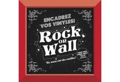 Rock on Wall Vinyl Record LP Sleeve Display Frame - Silver for sale online Framed Records, Vinyl Records, Vinyl Frames, Frames On Wall, Vinyl Record Player, Easy Frame, Vinyl Lp, Vinyl Collectors, Cadre Photo