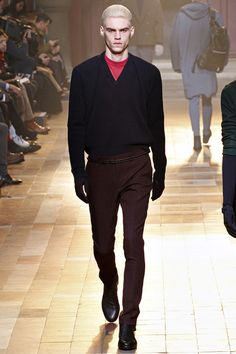Lanvin Fall 2013 Menswear Collection Slideshow on Style.com