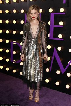 """All that glitters: Bella Heathcote in Alexander McQueen and Giuseppe Zanotti heels attends the premiere of Amazon's """"The Neon Demon""""  on June 14, 2016 in Hollywood, California"""
