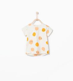 ZARA - KIDS - Faces print t-shirt