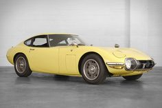 """Developed in conjunction with Yamaha and debuted at the 1965 Tokyo Motor Show, the Toyota 2000 GT was Japan's first """"supercar"""", capable of a 135 mph top speed. Only 351 were built, and only 50 made it to the US...."""