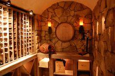 Build A Stone Wine Cellar