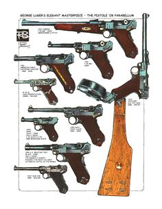 """Robert Burrows - The """"Oh so collectible"""" Luger"""