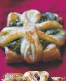 Pinaatti-fetatortut Antipasto, Sushi, Yummy Food, Plates, Chicken, Baking, Ethnic Recipes, Koti, Winter Solstice