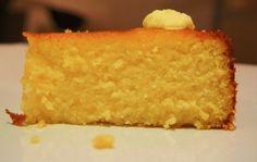 Lemon polenta cake, A Spoonful Of Sugar