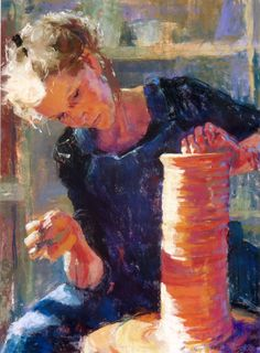 The Hands of the Potter by Julie Rogers
