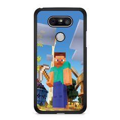 Minecraft Construction LG G6 Case Dewantary