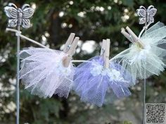 12. #Fairy Garden #Clothesline - 48 Fantastic Fairy #Gardens for Your Yard ...