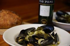 Fino Sherry Fennel and Mussels