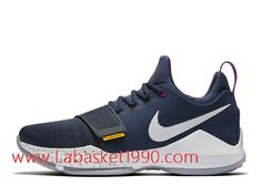 sneakers for cheap c294a bb1ee Nike PG 1 The Bait Chaussures de BasketBall Pas Cher Pour Homme Bleu Blanc  878627 417