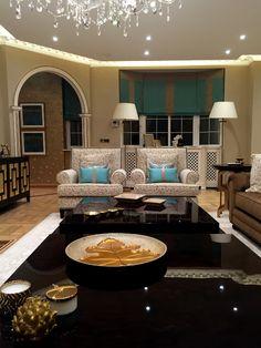 Luxury Living room in Abbey Lodge building - London | SISSY FEIDA INTERIORS