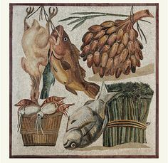 This article talks about ancient roman food     Anhttp://library.thinkquest.org/26602/diet.htm