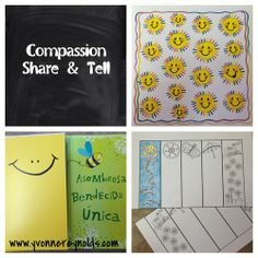 March Compassion Share & Tell: stickers, cards, and printables - a few of the things you can send to your sponsored child