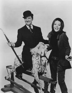 """The Avengers""--Steed & Mrs. Peel! (It wasn't film--but great TV)"