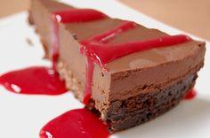 Deep Dark Chocolate Tart (Gluten, Grain, Dairy, Refined Sugar free).