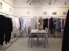 SS2016 Men & Women - NOMET SHOWROOM - Omotesando #showroom