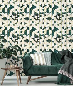 Gramercy Ivory Metallic Wallpaper by Mind The Gap Metallic Wallpaper, Cool Wallpaper, Pattern Wallpaper, Modern Wallpaper, Mind The Gap, Interior Walls, Interior Design, Boat Interior, Apartment Interior