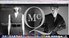 McQueen Landing Page