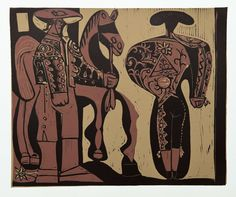 """Picasso """"Picador and Matador"""""""
