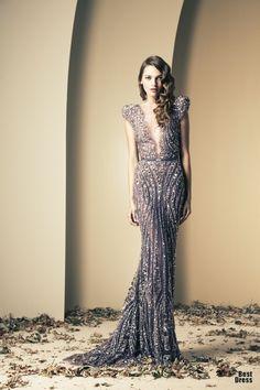 Llamativos vestidos de cóctel elegantes | Colección vestidos Ziad Nakad