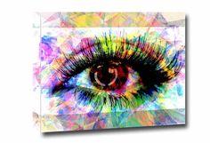 Eye Art Optomerty Eye Canvas Eyeball Optician von PoolPartyPopArt