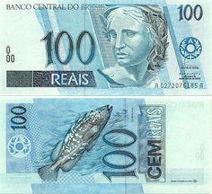 100 reais cédula
