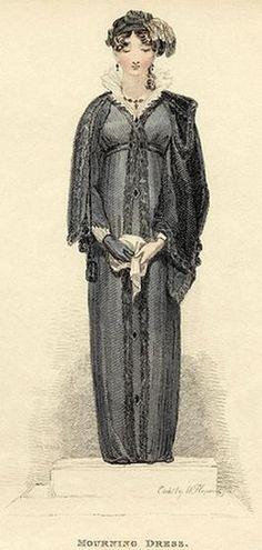 Mourning dress, Ackermann
