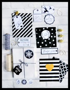 torebki na prezenty - partymika Wrapping Ideas, Wraps, Notebook, Christmas, Xmas, Packaging Ideas, Navidad, Noel, The Notebook