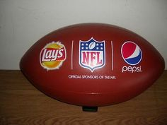PEPSI & LAYS NFL FOOTBALL ADVERTISING DISPLAY - INFLATABLE/ CEILING HANGING