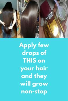 Apply few drops of THIS on your hair and they will grow non-stop Today I will share an amazing hair growth remedy that will grow hair nonstop, and this remedy can resolve dandruff problem too. For this remedy, you will need- 2 Tbsp. Aloe Vera gel 2 Tbsp. Almond oil Method- 1.Take a clean bowl, add 2 tbsp. Aloe Vera gel and 2 tbsp. Almond oil together, if …