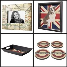 Some British inspired home decorations : http://homes.yahoo.com/news/summer-olympics-inspiration--british-flavored-decor-invades-the-home.html?page=3